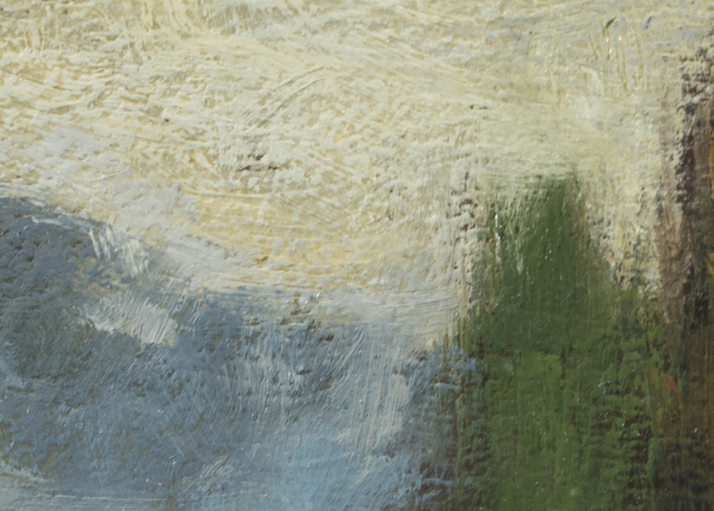 Study after: George Inness - Landscape by M Francis McCarthy - 5x7 (Detail 2)