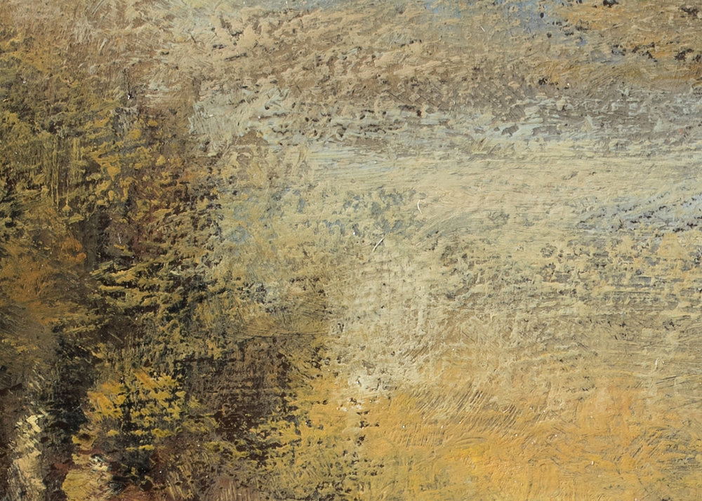 John Francis Murphy Landscape by M Francis McCarthy - 5x7 (Detail 2)