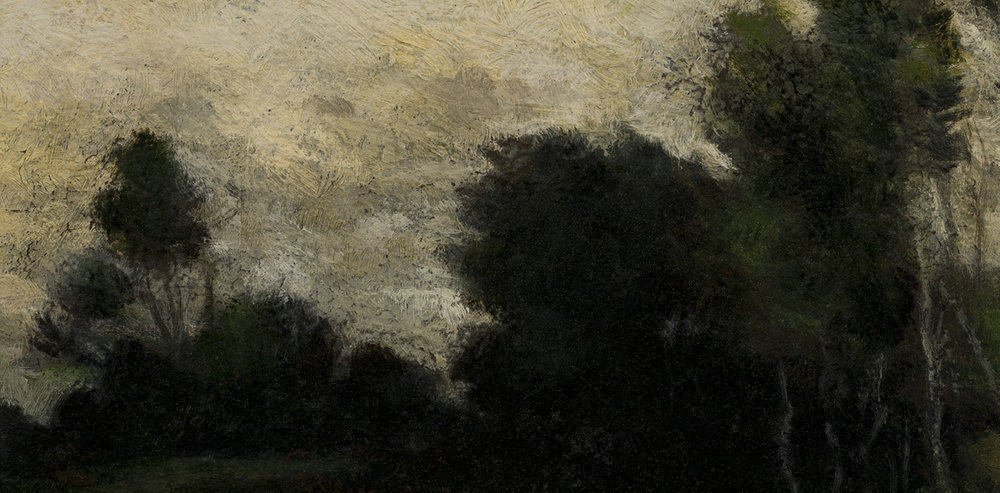 Study after: Jules Dupre - Landscape by M Francis McCarthy - 5x10 (Detail)