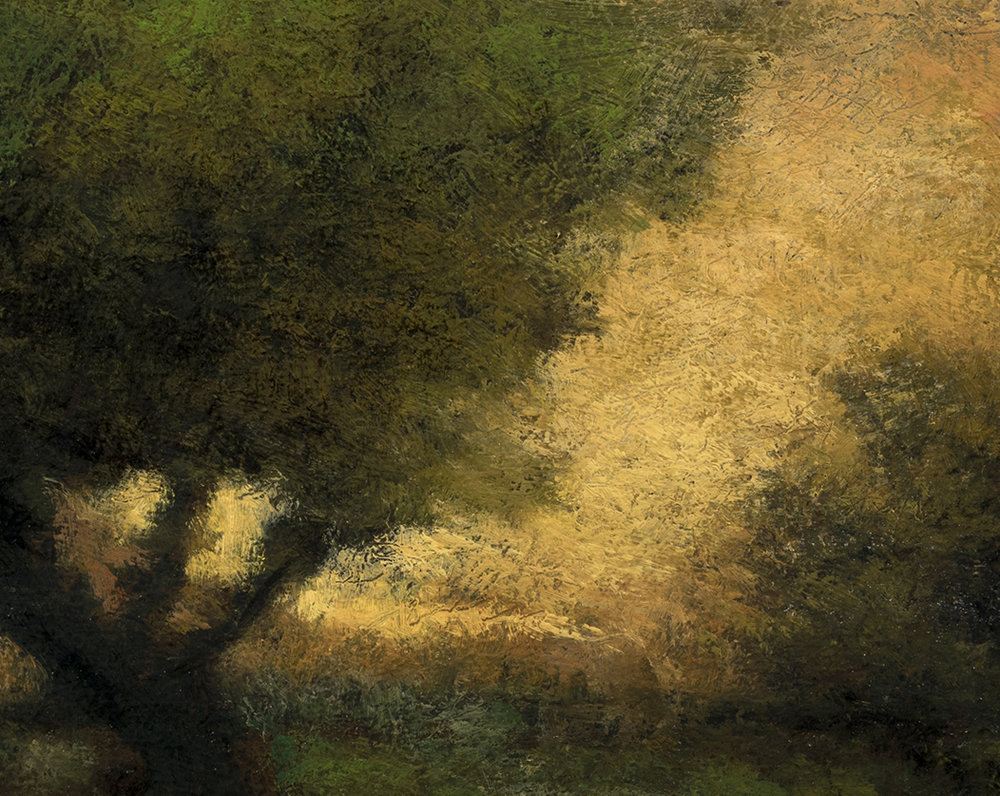 Study after: George Inness - In the Gloaming (Detail)