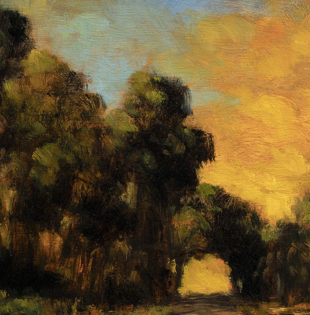 Dawn Path by M Francis McCarthy - 8x8 (Detail)