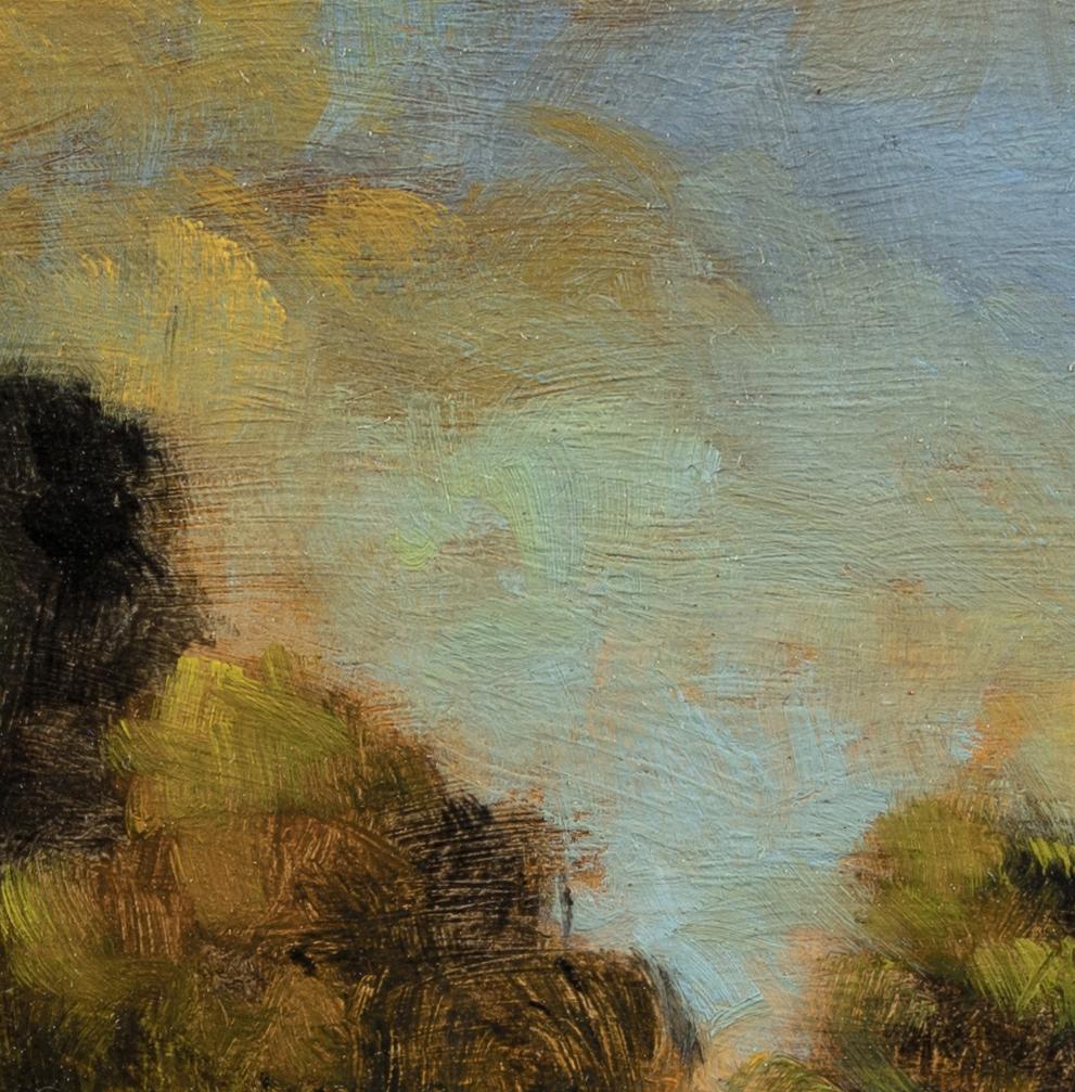 Dawn Path by M Francis McCarthy - 8x8 (Detail 2)