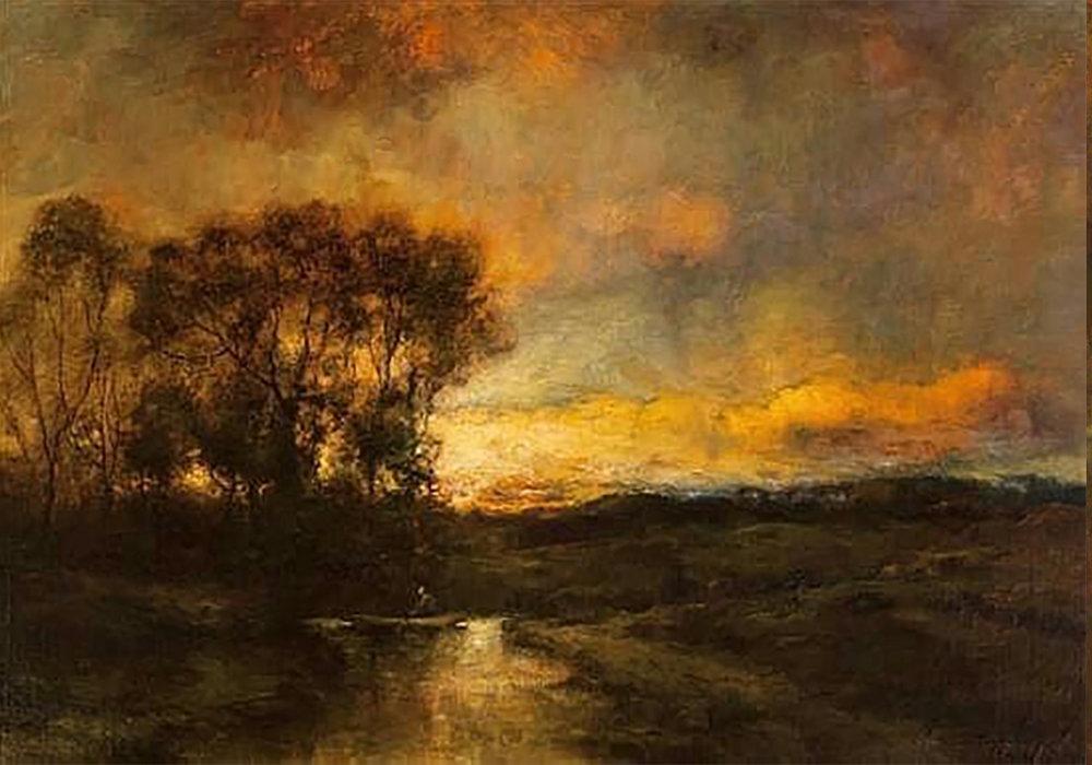 Charles Appel Landscape (Original)