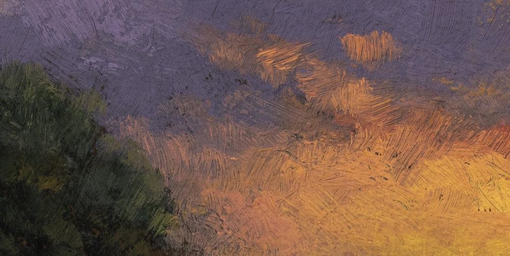 Rivers Edge by M Francis McCarthy - 5x10 (Detail 2)