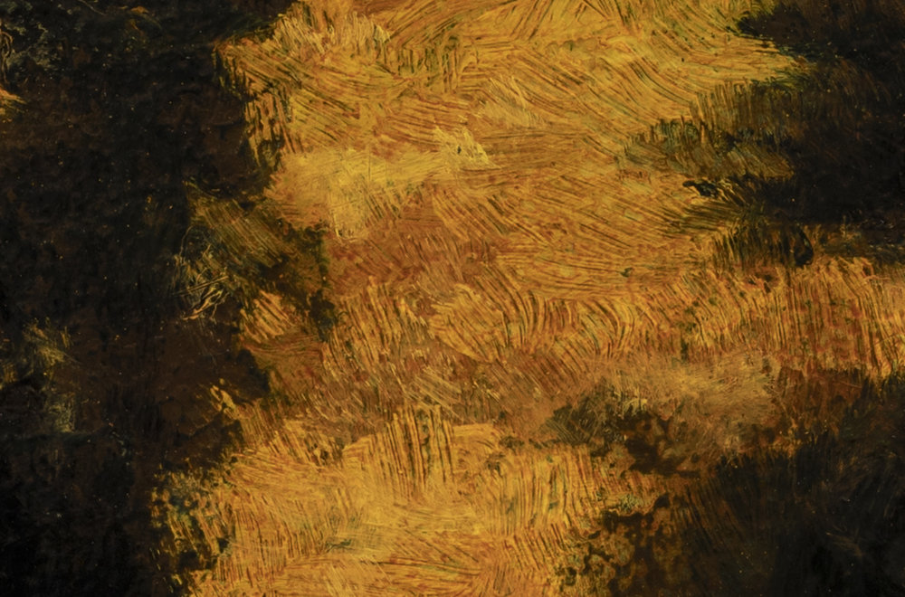 Sunset Road by M Francis McCarthy - 4x6 (Detail 2)