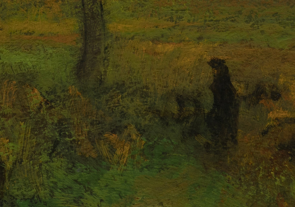 Study after George Inness 'Sunrise' by M Francis McCarthy - 7x10 (Detail2)