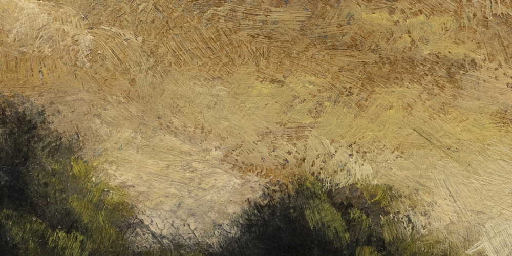 Summer Creek by M Francis McCarthy - 5x10 (Detail 2)