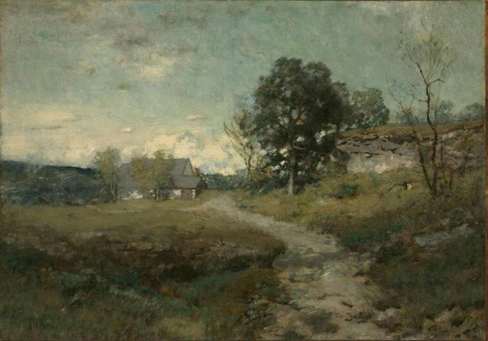 Alexander H Wyant Arkville Landscape (Original)