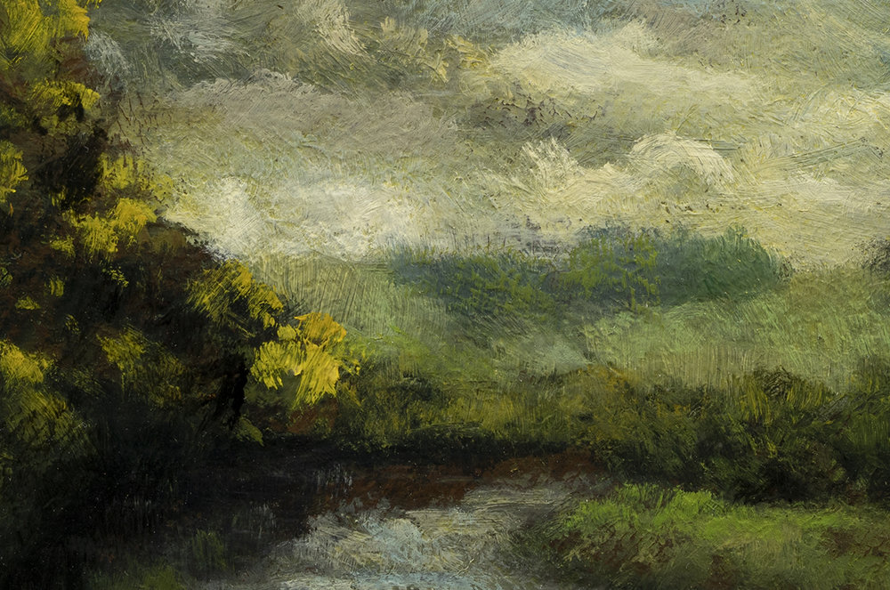 Cloudy Day by M Francis McCarthy - 4x6 (Detail)