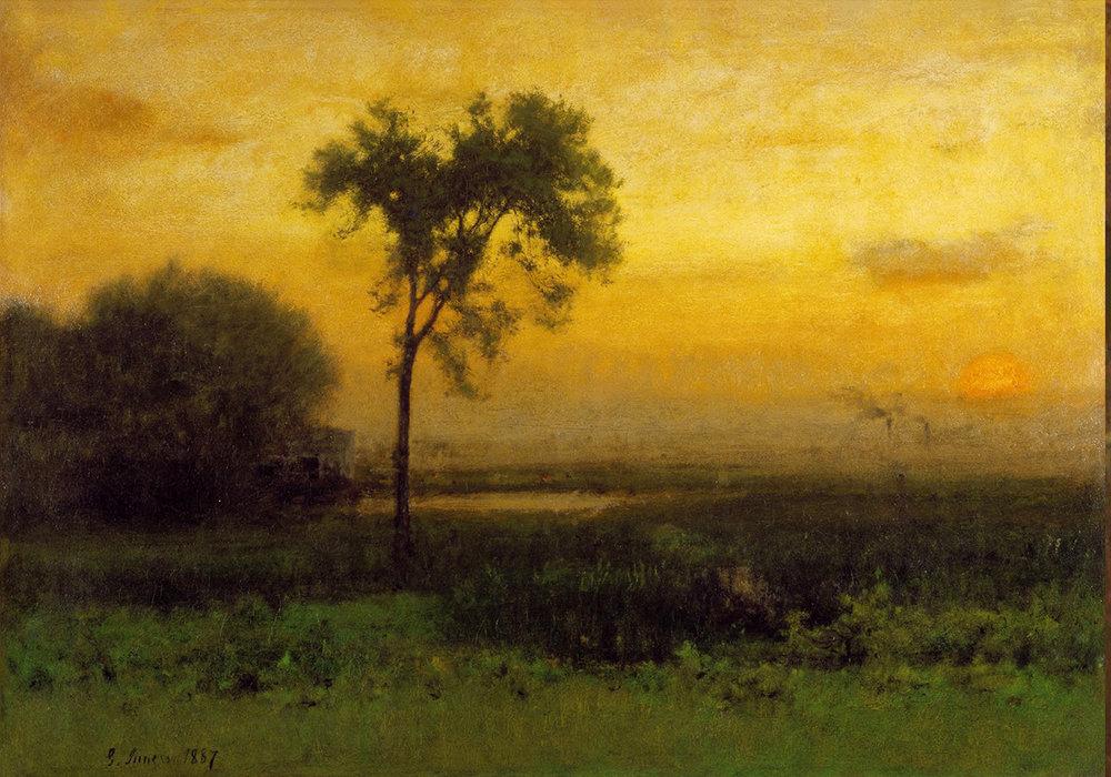 Original: George Inness Sunrise