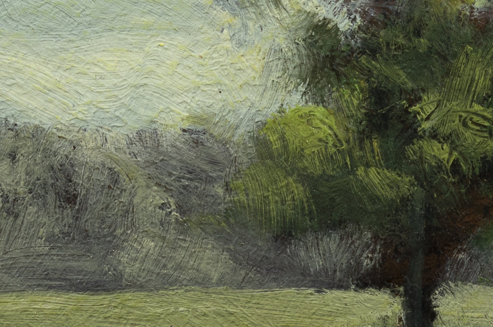 Edge of the Pasture by M Francis McCarthy - 4x6 (detail 2)
