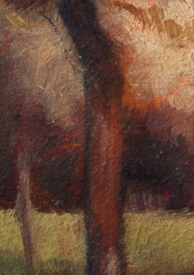 Study after: George Inness California by M Francis McCarthy - 5x7 (Detail 2)