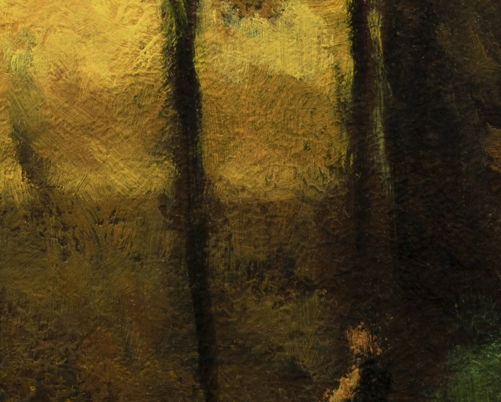 Study after George Inness Sunset in Georgia by M Francis McCarthy - 8x10 (Detail 2)