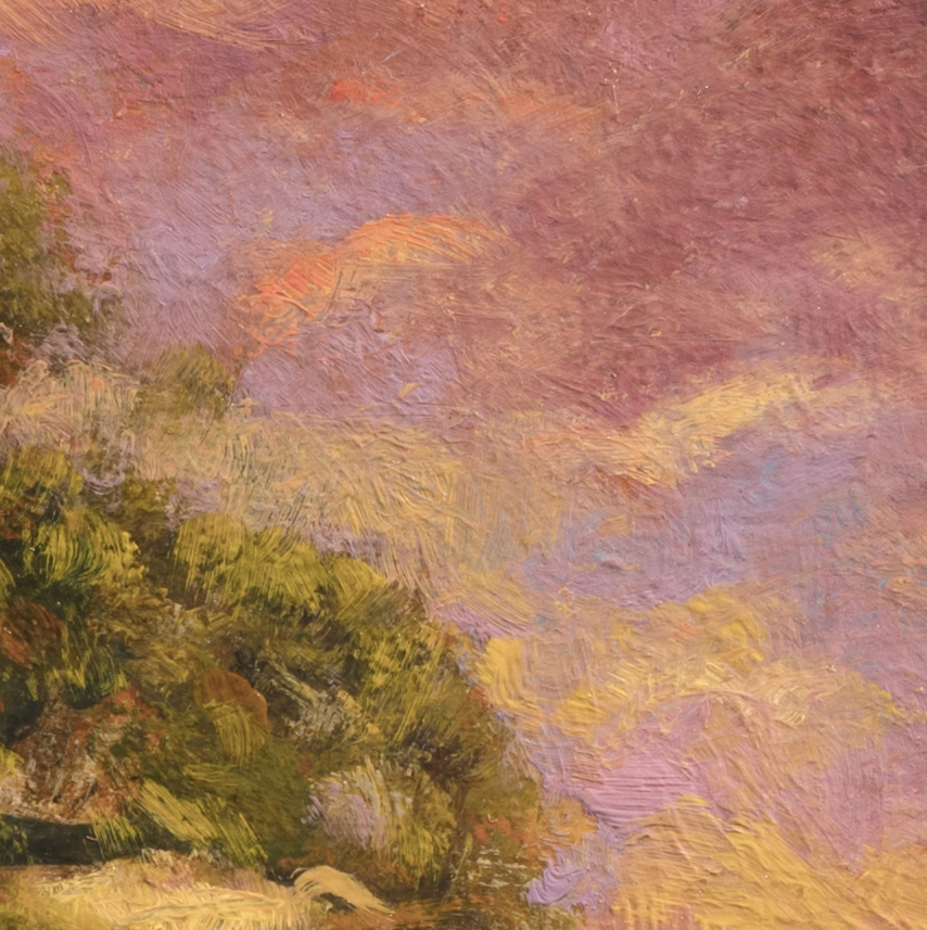 Afternoon Glow by M Francis McCarthy - 8x8 (Detail 2)