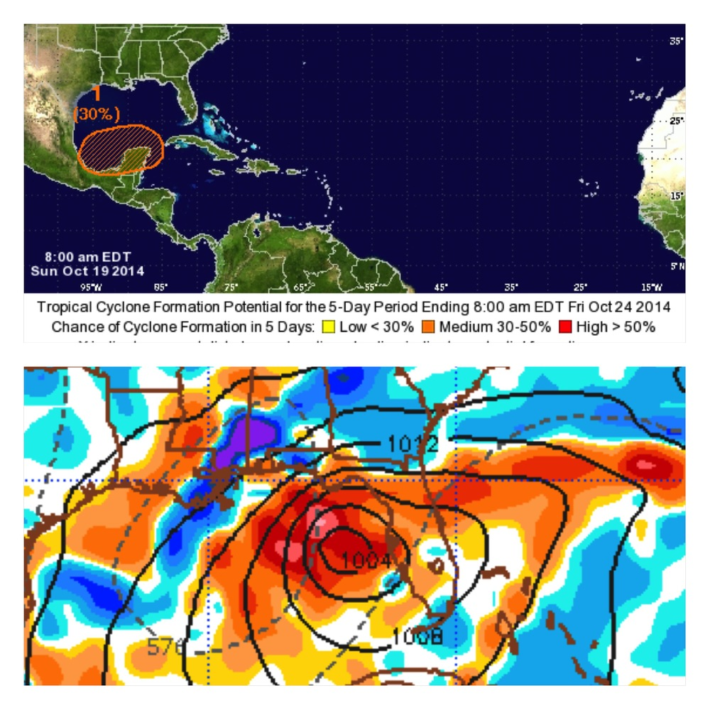 10/19 0Z EURO forecast for 7 days out
