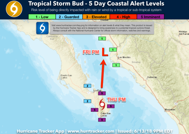 Tropical Storm Bud - Our Graphics — Latest News/Updates