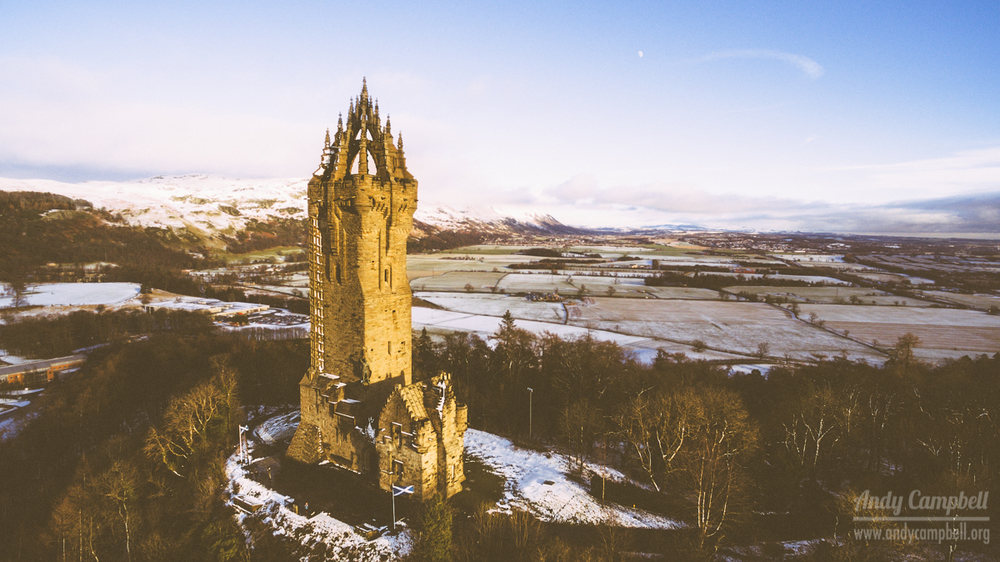 The William Wallace National Monument (Not actually Mel Gibson Memorial Tower  ™)