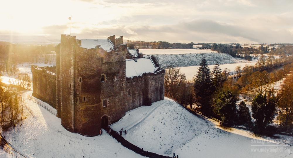 Doune Castle. Winterfell etc