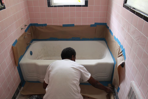 Ugly Tub Reglaze Your Own Tub For Little Cost Cavco Consulting - Does tub reglazing work