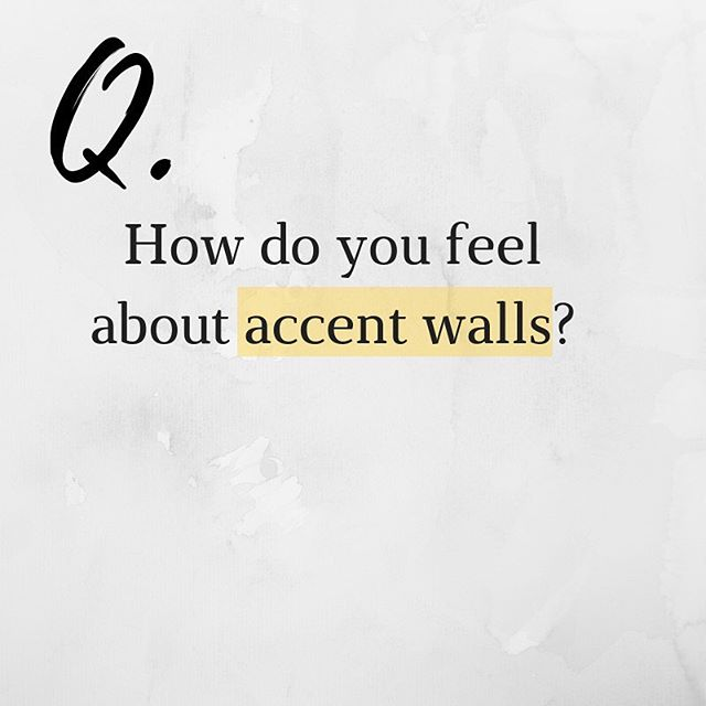 One question that clients always ask me is how they can incorporate accent walls into their home or business! Whether you choose an elegant wall paper or a pop of color, you must have a good eye for details. Check out my favorite walls in my stories for inspiration! #TipTuesday