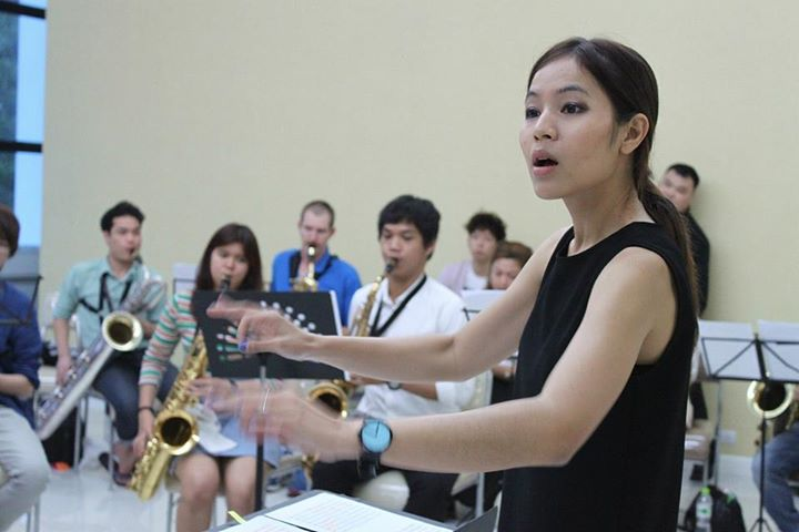 Saxophone Ensemble rehearsal
