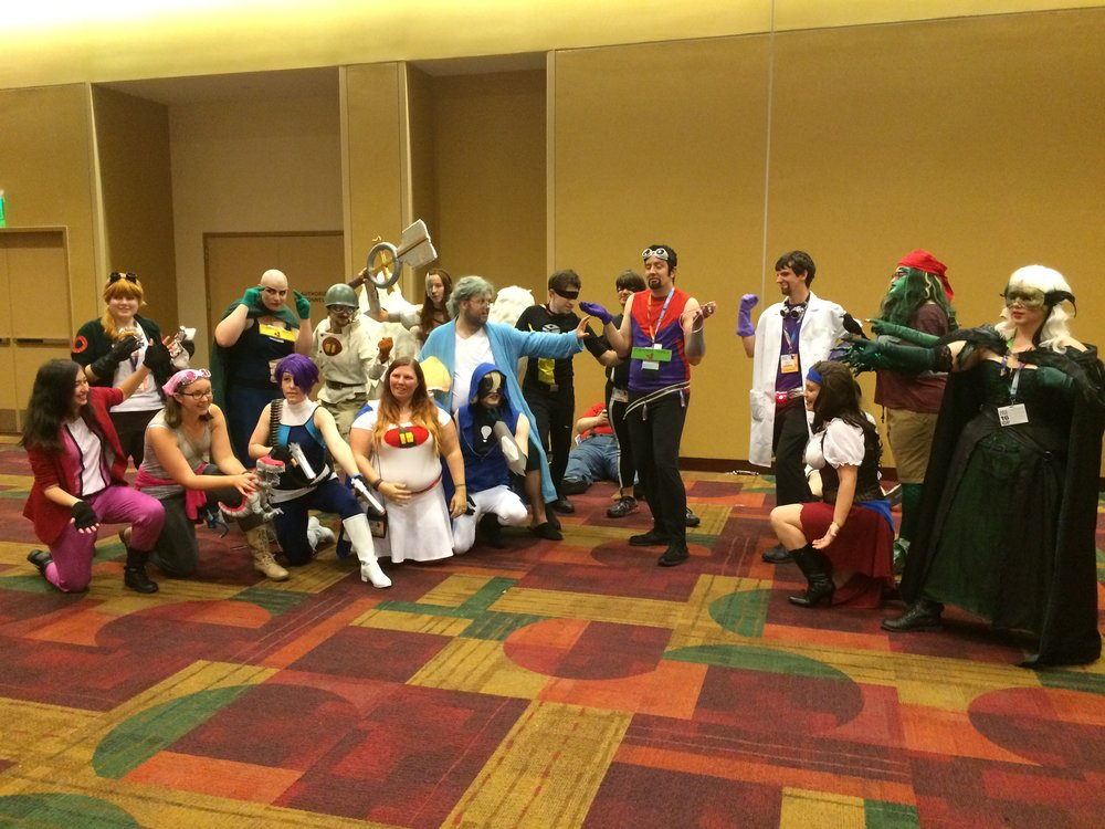 GenCon 2016 - Sentinels Cosplay Contest Group Shot