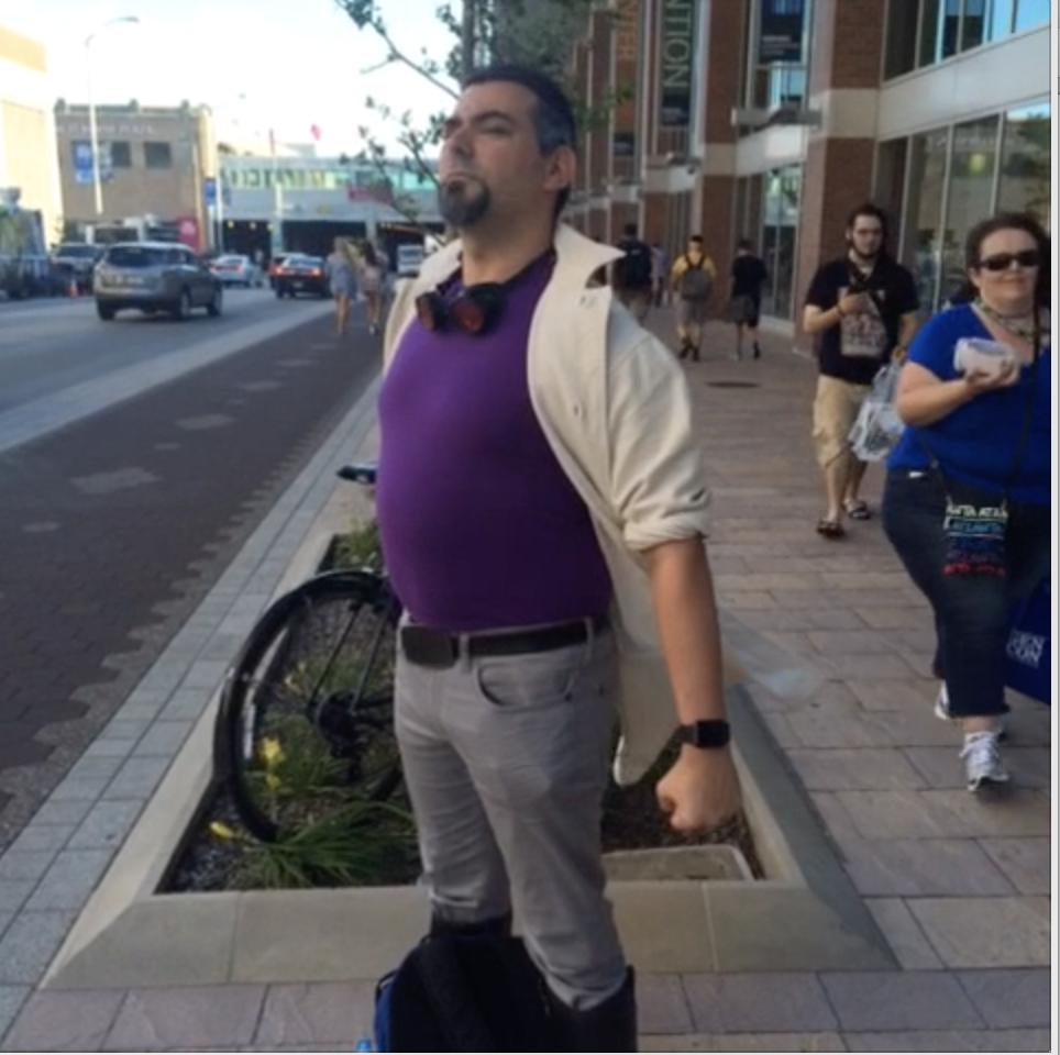 GenCon 2015 - Jeremy as Baron Blade