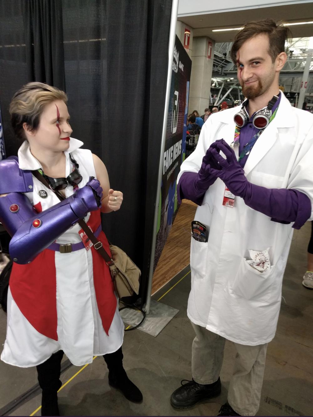 GenCon 2018 -Luminary and Baron Blade
