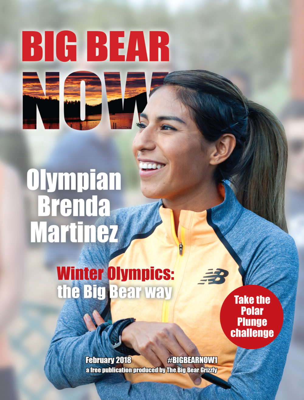 Natalie designed the February 2018 issue of Big Bear Now magazine and kept the layout simple, yet consistent with the magazine's overall design.