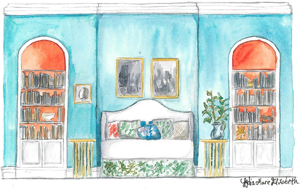 Hand painted watercolor bedroom elevation rendering lydia marie elizabeth copy.jpg