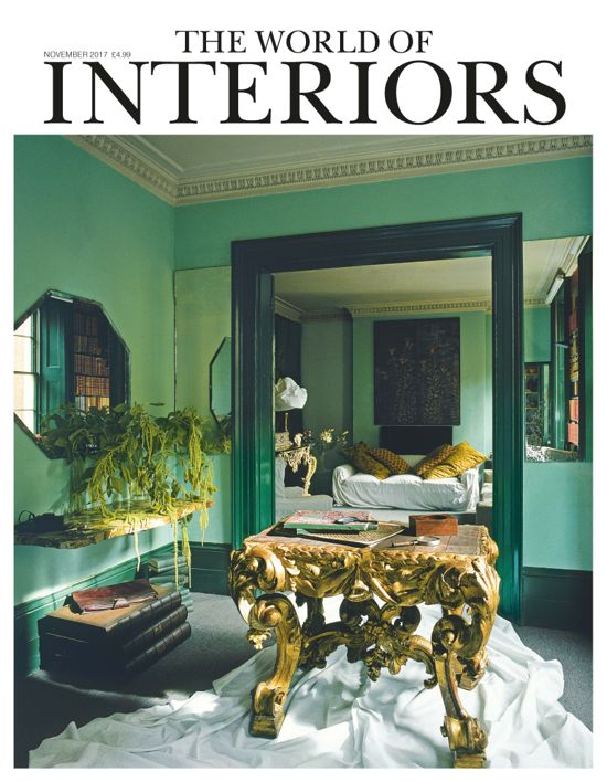Conde Nast's World of Interiors Featured Artist, November 2017