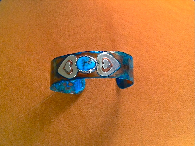 Turquoise from the Heart Bracelet