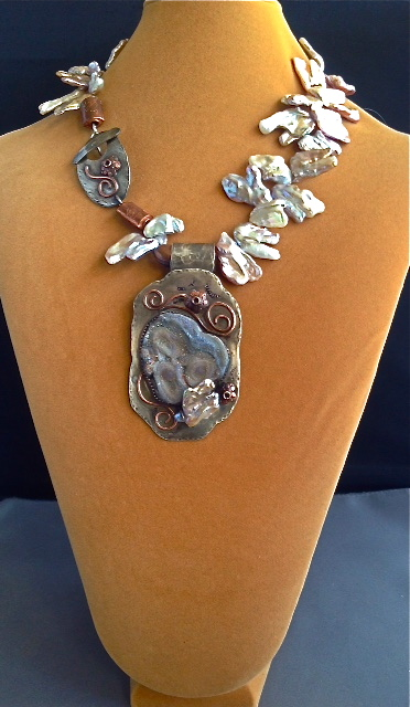 Arizona Desert Rose Necklace