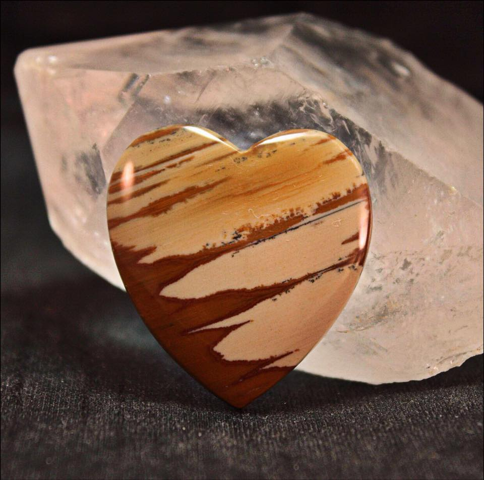 - This Owyhee Jasper Heart Stone is a symbol of my heartfelt thanks to the more than 1,500 art patrons, art collectors and art enthusiasts who visited High Desert Creations during the 2018 Hidden In The Hills Studio Tour & Sale.