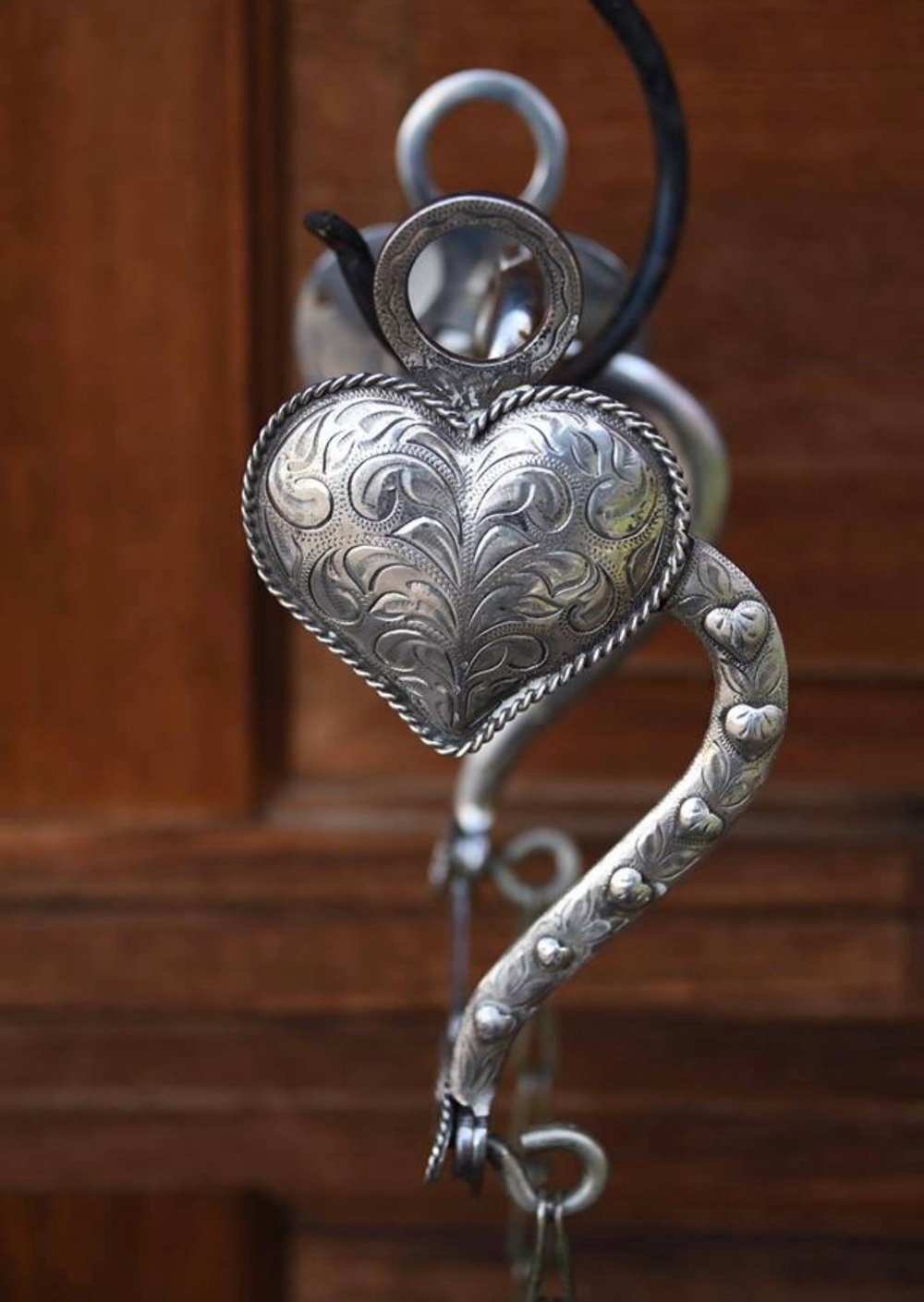 - I have created countless heart pendants (many on commission) and will continue to create heart pendants throughout the year – so well loved by the wearer – including the pendant below for my very own self which I created from a treasure gifted to me from Mary Hyde.