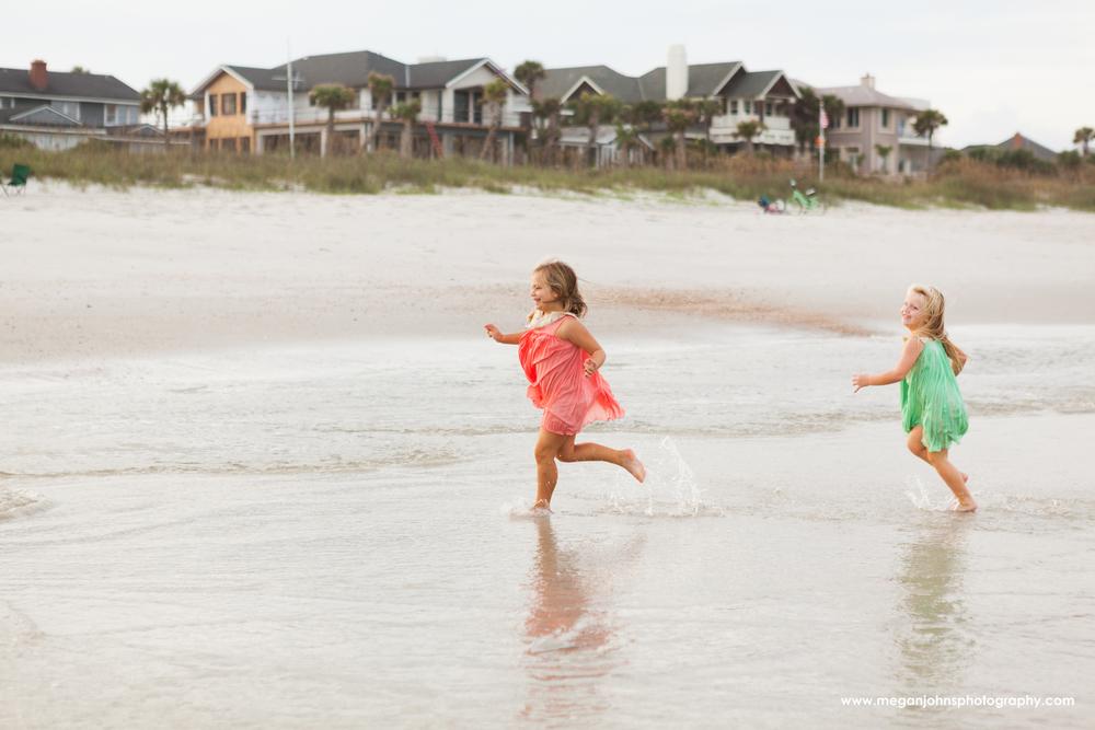 Jacksonville Beach Photography Kids Running