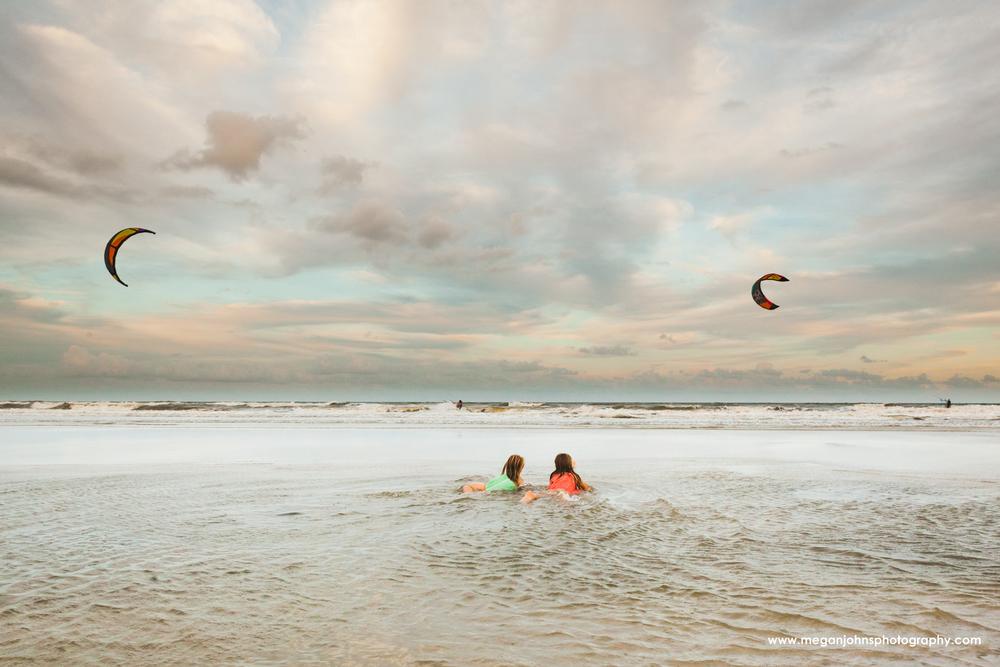 Jacksonville Beach Photography Kite Boarding