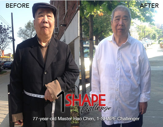 Hao Chen, 77 years old, also participated in the 2016 Challenge, and felt better than he had in a long time!