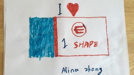 Alina Zhang, Age 3