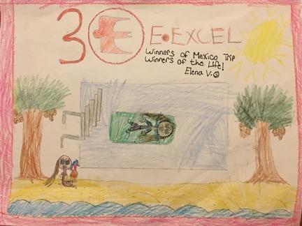 Elena Vidrih, Age 6