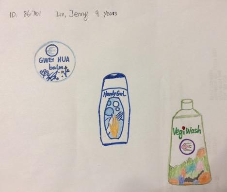 Jenny Lin, Age- 9