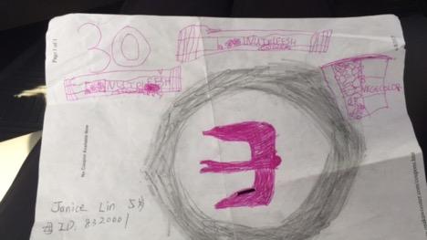 Jonice Lin, Age 5