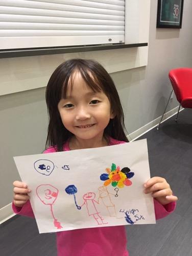 Lillian Chong, Age 5