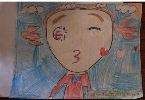 Olivia Ou–Yang, Age 7
