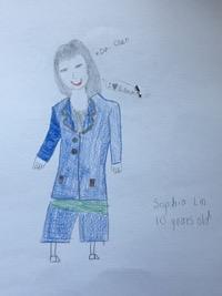 Sophia Lin, Age 10