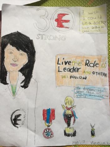 Vanessa Lin, Age 7
