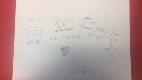 William Li, Age 7