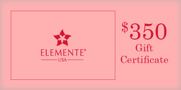 $350 Elemente Gift Certificate   70 Points Needed to Win