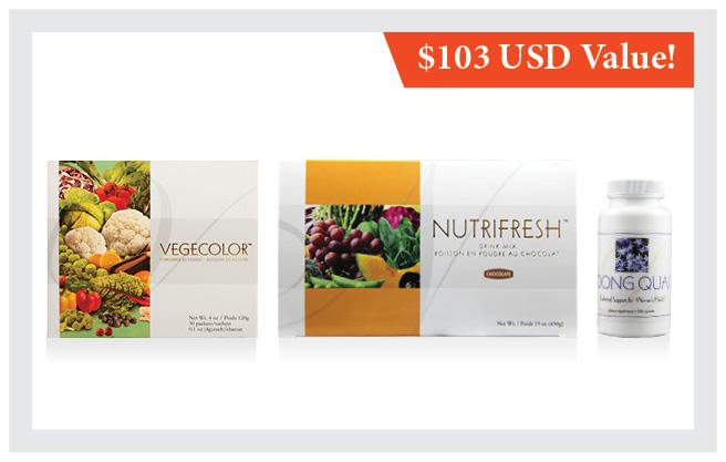 Dong Quai     •    Nutrifresh® Chocolate        •    Vegecolor®