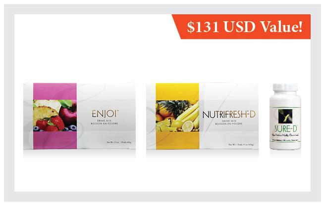 Enjoi™    •    Nutrifresh™-D    •    Sure-D™
